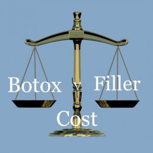 botox v filler cost
